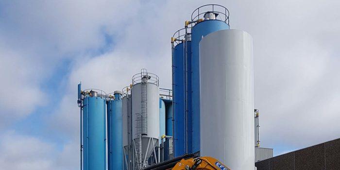 ARDEX fabrik silo
